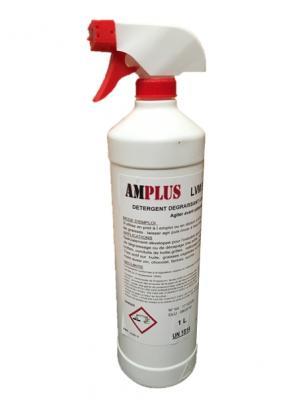 Degraissant mousse active détergent lavage nettoyage amplus jeros