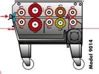 GRATTE - PLAQUES 9014 - 9015 JEROS AMPLUS